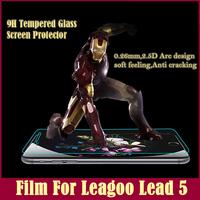 Leagoo Lead 5 Film Premium Tempered Glass Screen Film Phone Explosion Proof Clear 0.26mm Protective Film