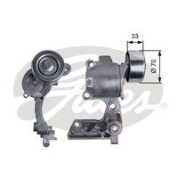 Element Drive Belt Auto Tensioner+Serpentine Belt Complete Repair Kit for TOYOTA  Land Cruiser Prado 1GRFE   2002-2009