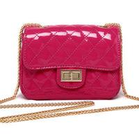 Bag Women Handbag Plaid Leather Bag Chain Women Messenger Bag Shoulder Cross body bag Wholesale Bolsas Fmininas FF8