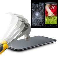 30pcs/lot 2.5D 0.3mm Premium Anti Crack Tempered Glass Screen Protector Film For LG G2 without Retail Package