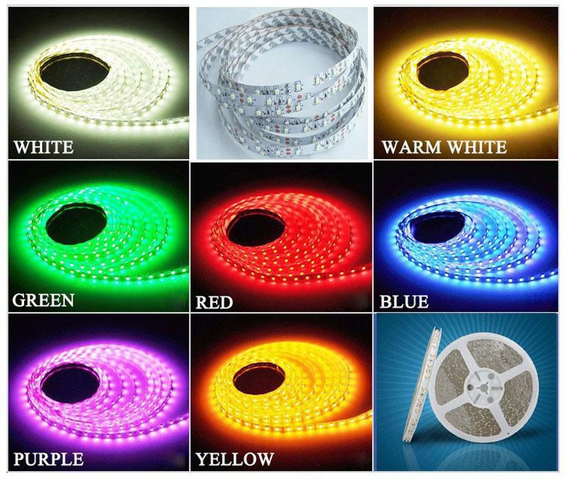 Led Strip light 3528 SMD 5M Fiexible light Led Tape Christmas decoration led Strip luz(China (Mainland))
