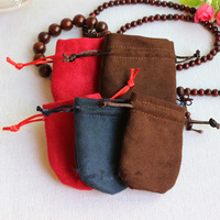8*10cm Jewelry display Pouches Velvet boxes Drawstring Pouch Bag jewellery Christmas Bag wedding candy gift Ring bag Velvet bags