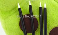NEW   One-off Eyeliner Brush Disposable Eyeliner Wand Cosmetic Makeup Brush  (100 pcs/lot)  + Free shipping