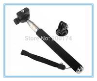 Telescoping Extendable Pole Handheld Monopod & Tripod Adapter for GoPro Hero 2 3 3+
