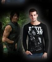 Unisex Zombie Fashion long sleeve  T-Shirt  Slim M-XXL YF104