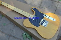 Best new natural woden electric guitar free shipping