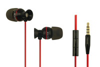 original AWEI S9300VI 3.5mm Plug Stereo In-Ear Earphone / Headphone With Microphone,1.2 m Flat Cable For Samsung S950