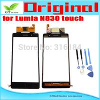 1pcs/lot Original Touch Screen Digitizer For Nokia Lumia 830 N830 Touch screen  Digitizer with opening tools Free shipping