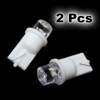 2PCS 12V NEW Hot Sale T10 501 W5W 194 168 Pure White Car LED Wedge Side Interior Light Lamp Bulb H1E1