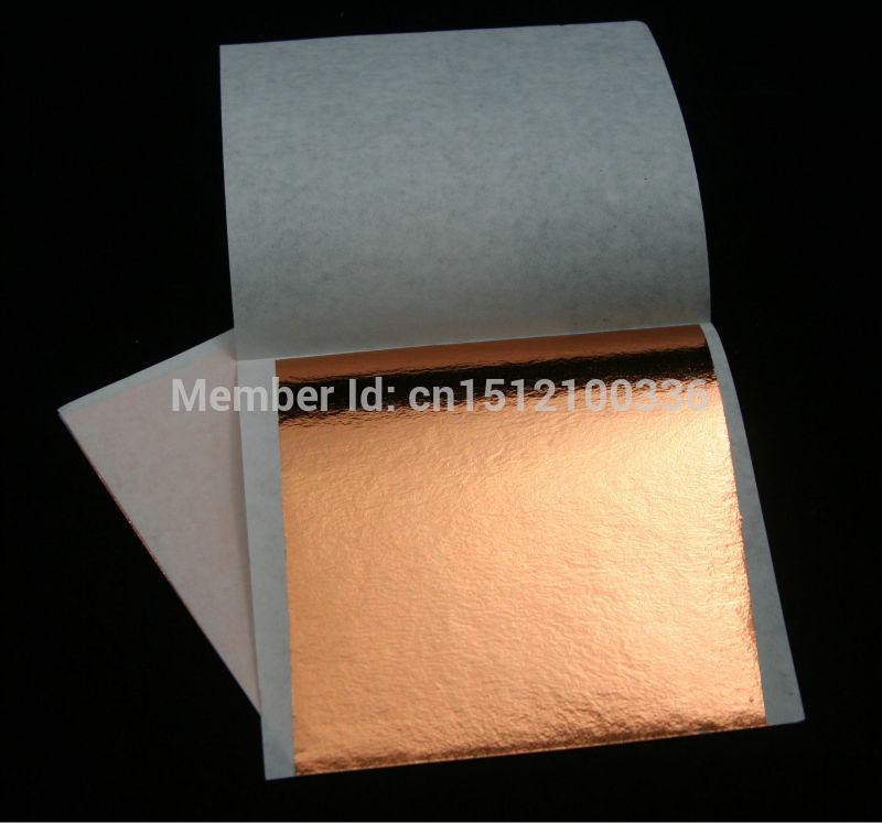 Rose Gold Foil Rose Gold Leaf 90x90mm