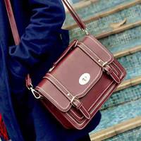 New women solid PU Leather Lichee Pattern Shoulder Bags Bolsas Femininas Crossbody Tote Vintage Women Messenger Bags