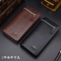 Free shipping 2015 new leather men's wallet business style brand men's long wallet zipper men wallets clutch purse black brown