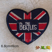 1 pcs  Embroidered  (Punk rockers love )  Iron On Sew On patches Applique Badges~DIY  cloth accessory