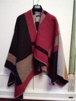 Hot Women Brand B Pashmina,High Quality Wool Cashmere Fashion Poncho Scarves,Autumn Winter Warm Scarves