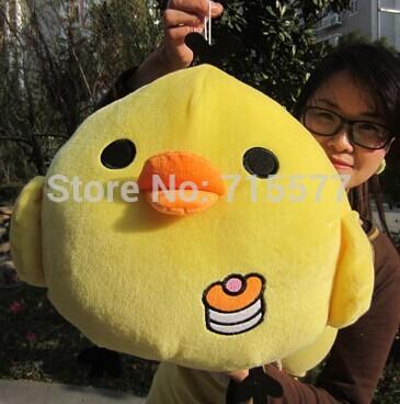 1 piece size 50 cm Real picture yellow chicken plush stuffed toys baby kid child girl Children birthday valentine day gift(China (Mainland))