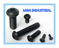 M3*20 M3x20 100pcs iso7380/DIN7380 Hexagon socket button head screw /BOLTGrade 10.9 FASTENER