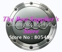 Car Wheel Cap Aud* RS3 A3 A4 S4 Q7 Q5 A8 S8 A6 S6 RS4 R8 Car Emblem Badge 148MM Ultra-high Quality 5pcs