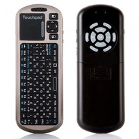 Russian Version iPazzport 2.4G Wireless Mini Keyboard Mouse Touchpad IR Learning Remote