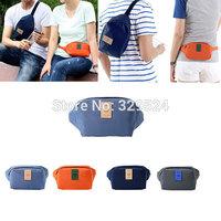 Monolopy Mens Boys Girls Outdoors Casual Sport Waterproof Polyester Fabrics Zipper Travel Soft Waist Bag