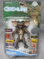 "Rare! BOX DEFORMED NECA Cult Classics GREMLINS Stripe Brain Mohawk 6"" Action Figure"