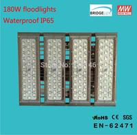 180w high power led light flood light 3 years warranty waterproof Bridgelux Chip Meanwell Driver DHL free shipping