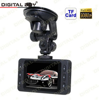 "Digital Boy 2.7"" Car Dvr Full HD 1080P 120 Wide Angle Car Camera recorder K6000 With Night Vision Led Display 4 x Digital Zoom"