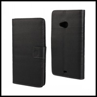 Lumia 535 PU case,Wallet Leather case For Microsoft Lumia 535 with Card Holder & Stand 50 pcs/lot
