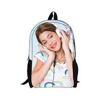 2014 new 3D cartoon bag violetta print school bag for girls violetta sac a dos children school bag violetta kids schoolbag