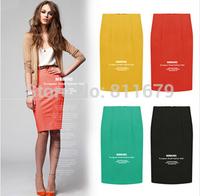 Saias Femininos 2015 New Women Skirts Casual Solid Plus Size Skirt Vestidos