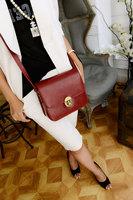 2014 vintage mini shoulder bag small messenger bag mortise lock small bag brief all-match messenger bag