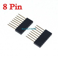 50Pcs/Lot 8 pin Stackable Header 8Pin For Arduino Free Shipping Wholesale