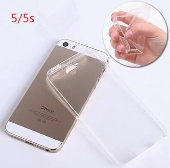 Ясно ультратонкий 0.3 мм чехол крышка для 5 / 5S тонкий матовый прозрачный чехол для IPhone 5 г 5S чехол бесплатная доставка