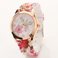2015 NEW Women Casual Dress Simple Design WristWatches Female Montre Clock Brand Silicone Wristwatch Sports watch XR482