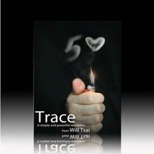 Free shipping ITmagic Trace (Gimmick + DVD) by Will Tsai and SansMinds / card mentalism close-up street props tricks(China (Mainland))