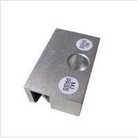 Aluminum alloy bracket plug clip for Glass door entrance electric bolt lock