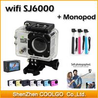"New Version SJ6000 WIFI Action Camera 12MP Full HD digital camera 1080P 30FPS 2.0""LCD Diving 30M Waterproof winter sports DV"