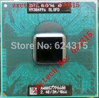 For Intel Core 2 Duo P8600 CPU (2.40GHz/1066MHz FSB/3M Cache) PGA478, SLGED / SLB3S , Dual Core Laptop CPU Compatible GM45 PM45