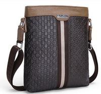 Real genuine leather men bags men's briefcase business men's messenger bag 2015 new shoulder bag ipad small men's travel bags