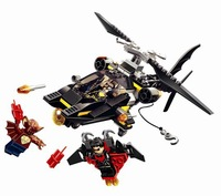 Bela 10226 185pcs bricks Super Heroes Man-Bat Attack DIY building block sets toys include Man-bat,Night Wing & Batman Minifigure