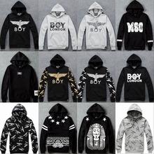 2015 Fashion Fleece Thick and warm Hooded Sweatshirts Unisex Boy London mens hoodies and women sweatshirts pullovers hoody coats(China (Mainland))