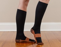 New Miracle Socks / Miracle Copper Socks 200pair/Lot Each with gift box express door to door