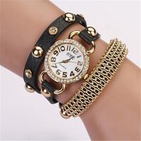 New Arrival Women Christmas Gift Watches Woman Chain Bracelet Watch Quartz Relogio Feminino Relojes Mujer Wrist Watches XR476