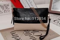 Free Shipping+Wholesale Fashion PU Leather Handbag Day Clutch Bags Envelope Bag Ladies Handbag Shoulder Bags,30pcs/lot