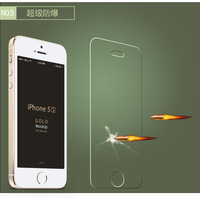 Explosion Proof Film Tempered Glass Screen Protector Toughened Membrane For Iphone 5 5c 5s