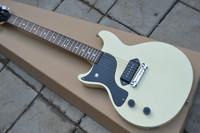 Best new China guitar cream yellow binding body electric guitars