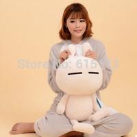65cm Cheap Sale Big Size Bunny Stuffed Animal Funny Tuzki Rabbit Plush Soft Toy For Children Girlfriend Gift brinquedo menina