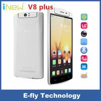"Original Inew V8 Plus 5.5"" MTK6592 Octa Core Mobile Phone Android 4.4 13.0MP Free Rotation Camera 1280X720 2GB RAM 16GB ROM GPS"