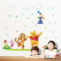 2015new children's room bedroom Baby cartoon Can remove the wall stickers wall decals stickers DLX131L