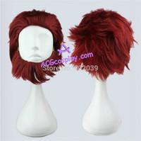 Fate zero rider cosplay wig dark red wig short wig ACGcosplay