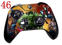THE INCREDIBLE HULK Skin Sticker Cover For Xbox ONE Controller Only Dropshipping 20 pcs per lot